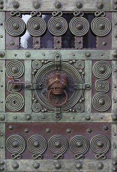 Door, Germany, Freiburg, Building, Entrance