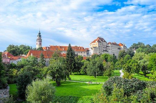český Krumlov, Czech Republic, Cesky Krumlov, City