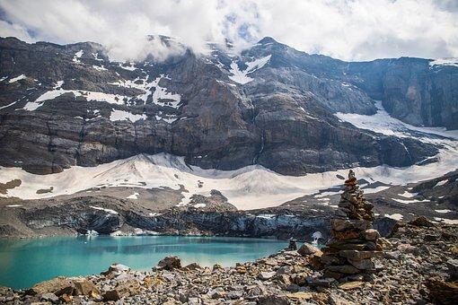 Glacier, Mountain, Landscape, Snow, Nature, Ice, Cold