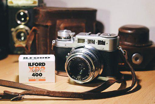 Camera, Film, Photography, Vintage, Old, Retro, History