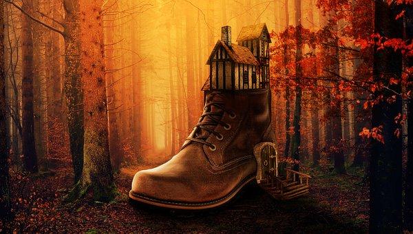 Fantasy, Forest, Mysterious, Landscape, Nature