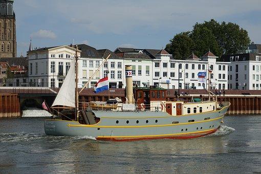 Hanseatic City, Zutphen, Steamer, George Stephenson