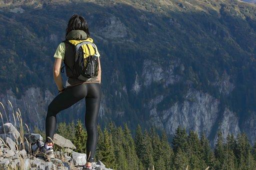 Mountain, Landscape, Adventure, Hiking, Summer, Outdoor
