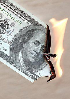 Dollar, Burn, Finance, Currency, Money, Investments