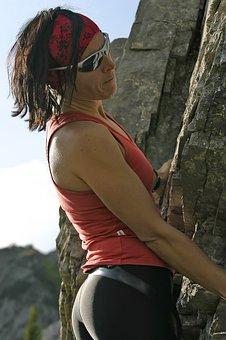 Rock, Mountain, Clibing, Summit, Rocks, Cliffs