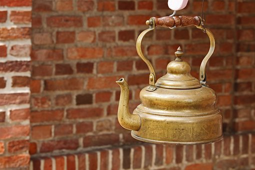 Antique, Old Tea Kettle, Junk