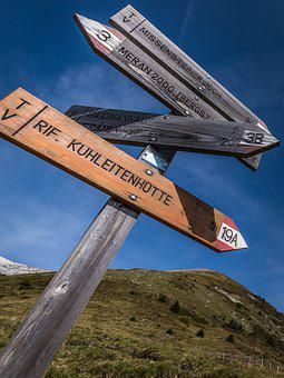 Orientation, Directory, Long Distance Footpath