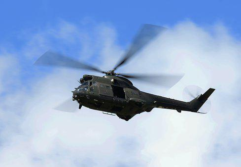 Helicopter, Puma, Raf, Flight, Aircraft, Aviation