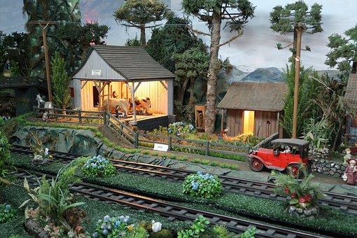 Lawn, Rio Grande Do Sul, Serra Gaucha, The Steam Train