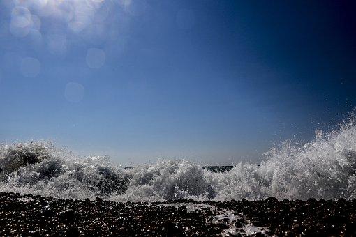 Waves, Sea, Beach, Wind, Tide, Ripples, Holiday
