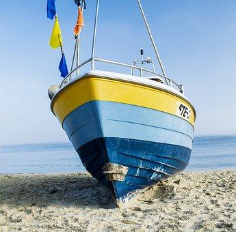 Boat, Sea, Ship, Yacht, Summer, Sailing, Blue, Stegna