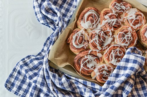 Cinnamon Rolls, Food, Sweet, Pastry, Homemade, Bakery