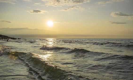 Sea Polish, Sea In Poland, Stegna, Sea, The Coast