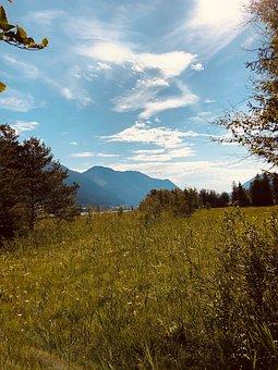 Mountains, Lake, Landscape, Nature, Water, Alpine