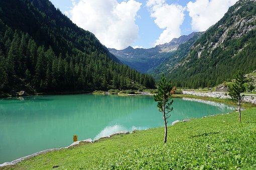 Lake, Mountain, Water, Reflection, Landscape, Nature