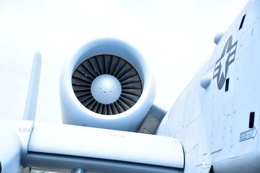 A-10 Jet Engine, Warthog Engine, Aviation
