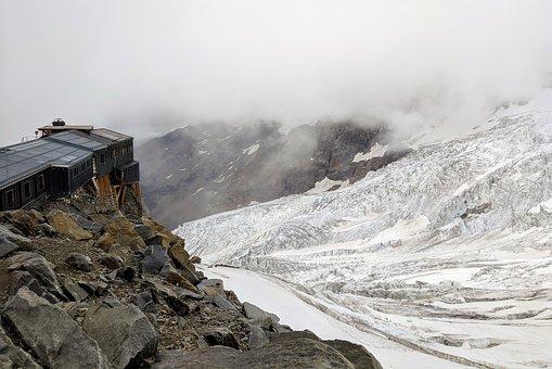 Glacier, Mountain, Landscape, Nature, Ice, Cold, Alpine