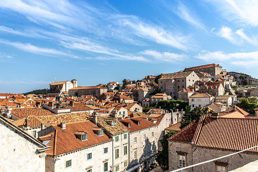 Croatia, Dubrovnik, Old, City, Europe, Architecture