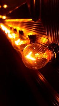 Light, Light Bulb, Bulb, Energy, Power, Electric, Glow