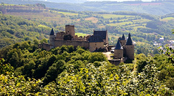 Castle, Architecture, History, Luxembourg, Bourscheid