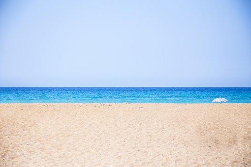Sea, Sand, Heaven, Coast, Seascape, Water, Beach, Ocean