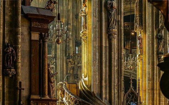 Vienna, St Stephan's Cathedral, Austria, Church, Dom