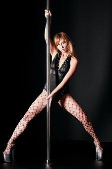 Pylon, Poly Dance, Pole, Twine, Girl, Pole Dancing
