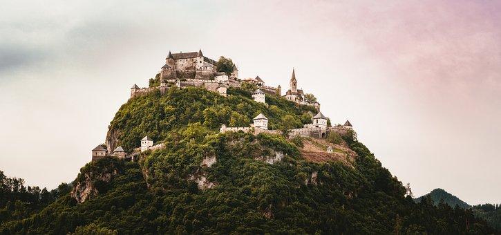Hochosterwitz, Castle, Carinthia, Middle Ages, Austria