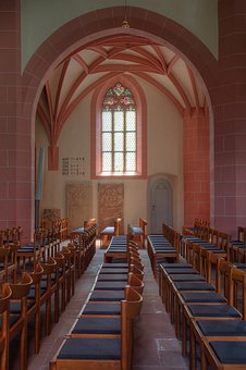 Church, Window, Religion, Light, Light Ray