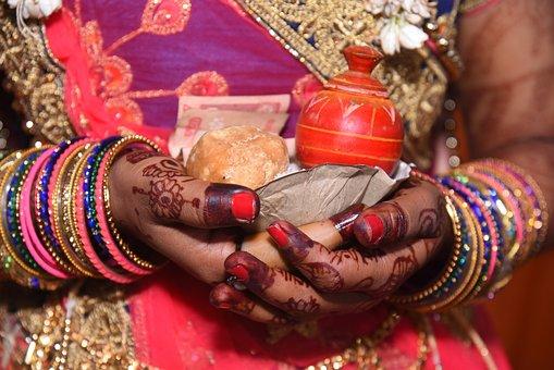 Wedding, Marriage, Indian Wedding, Indian Bride, Bride
