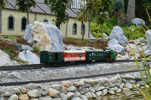 Train, Railway, Miniature, Railway Station, Transport