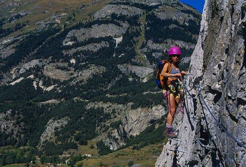 Via Ferrata, Mountain, Climbing, Climb, Mountaineering