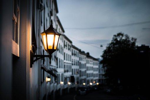 Norway, Oslo, Light, Evening, City, Building