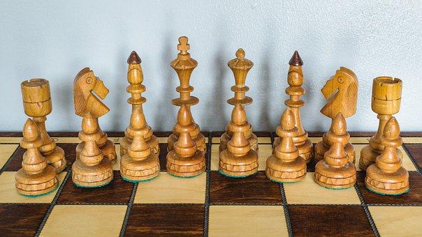 Chess, Set, Figures, Bierki, Pawns, Pawn, Tower, Jumper