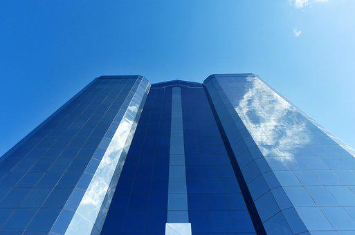 Architecture, Building, Skyscraper, City, Frontage