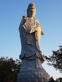 Shaolin, Asia, China, Henan, Dengfeng, Buddha, Statue