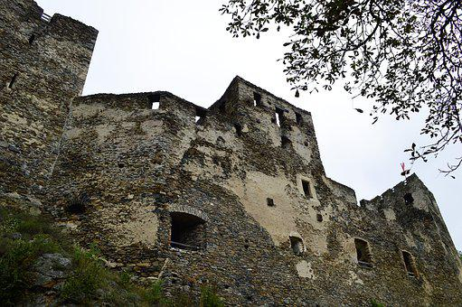 Ruin, Castle, Stone, Middle Ages, Fortress, Burgruine
