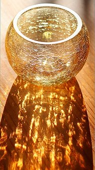 Tea Light Holder, Tealight, Mosaic Glass, Light Shadow