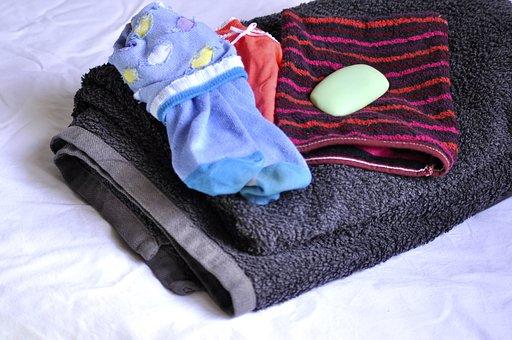 Morning, Routine, Socks, Underwear, Towels, Shower