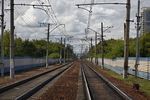 Rails, Railway, The Way, Ways, Transport, Travel