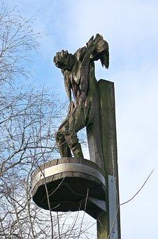 Jesus Cross, Artwork, Defenseless, Andreas Kuhnlein