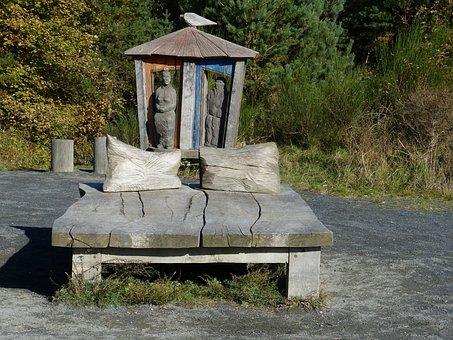 Hiddensee, Baltic Sea, Island, Rügen, Wood, Bed, Hiking