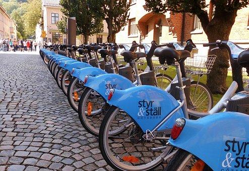 Bike, Bicycle Rental, Bike Station, Rental Station