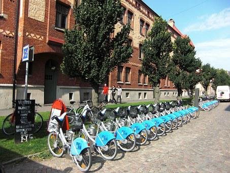 Bicycle Rental, Bicycles, Bike Station, City Bikes