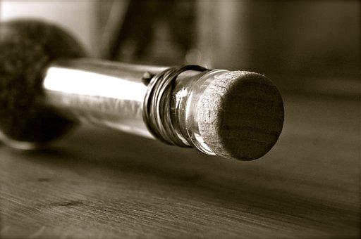Bottle, Bottleneck, Cork, Old, Noble, Delicatessen