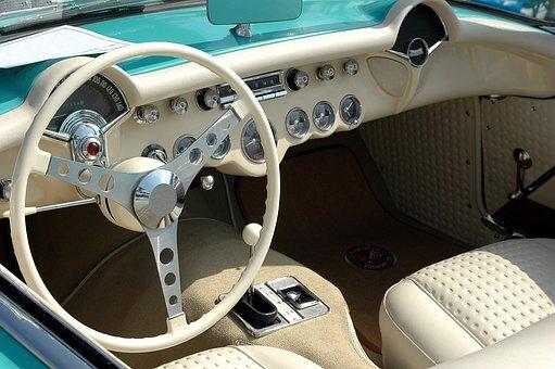 Vintage, Car Interior, Design, Classic, Style
