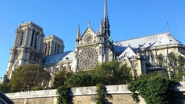 Notre Dame, Paris, Cathedral, Church, Gothic, Famous