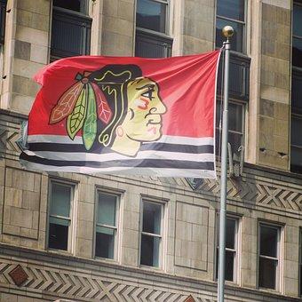 Blackhawks, Hockey, Nhl, Vertical, Chicago, Illinois