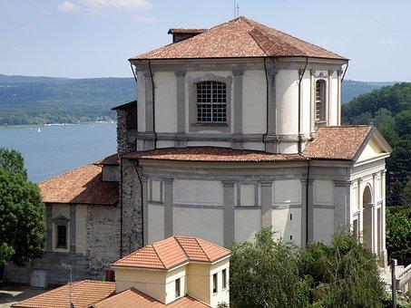 Arona, Chiesa Di San Carlo, Lake Maggiore, Italy