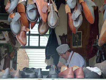 Shoemaker, Colonial, Williamsburg